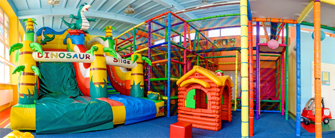 Zdjęcie placu zabaw dla dzieci
